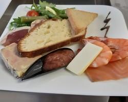 assiette terre et mer mariages  - La Spirale Gourmande - Chartres