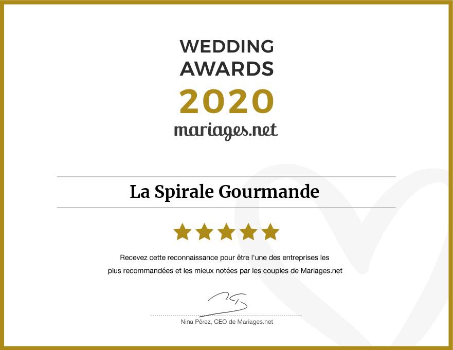 wedding awards et promotion hiver